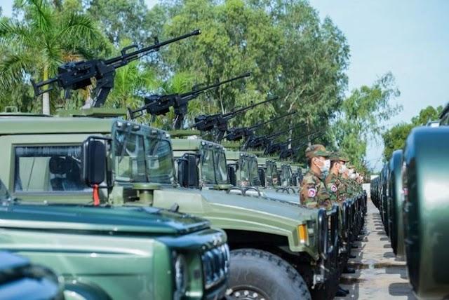 Campuchia liên tục tiếp nhận khí tài quân sự từ Trung Quốc