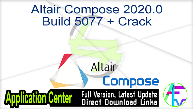 Altair Compose 2020.0 Build 5077 + Crack
