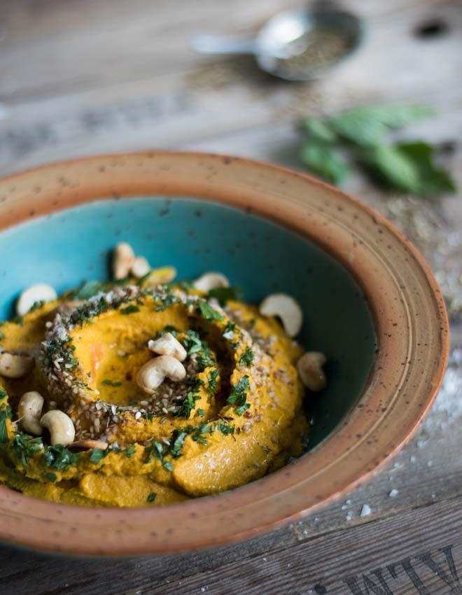 Möhren Hummus aus 1001 Nacht