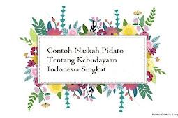 Contoh Teks Pidato Bahasa Jawa Tentang Kebudayaan