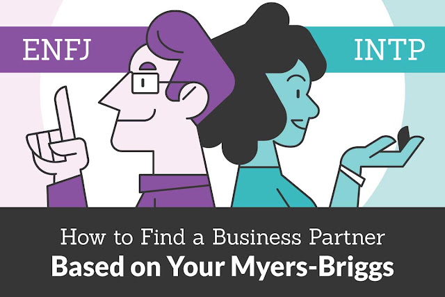 How to Find a Business Partner Based on your Myers-Briggs #infographic