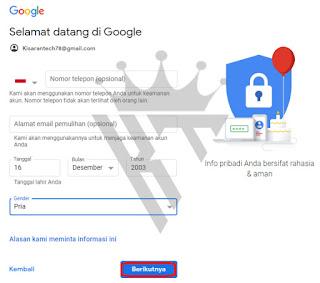 Cara Membuat Akun Gmail Tanpa Verifikasi Nomor HP