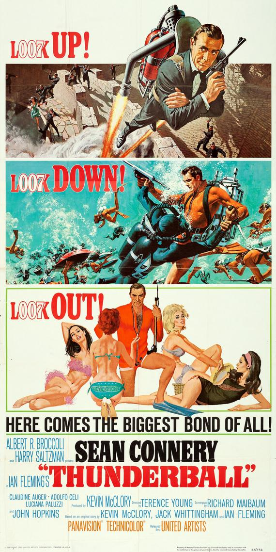 Look Down! Look Up! Look Out! Thunderball