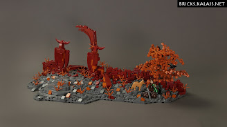 [MOC] Ruins of Khaz-Nog burgh gate