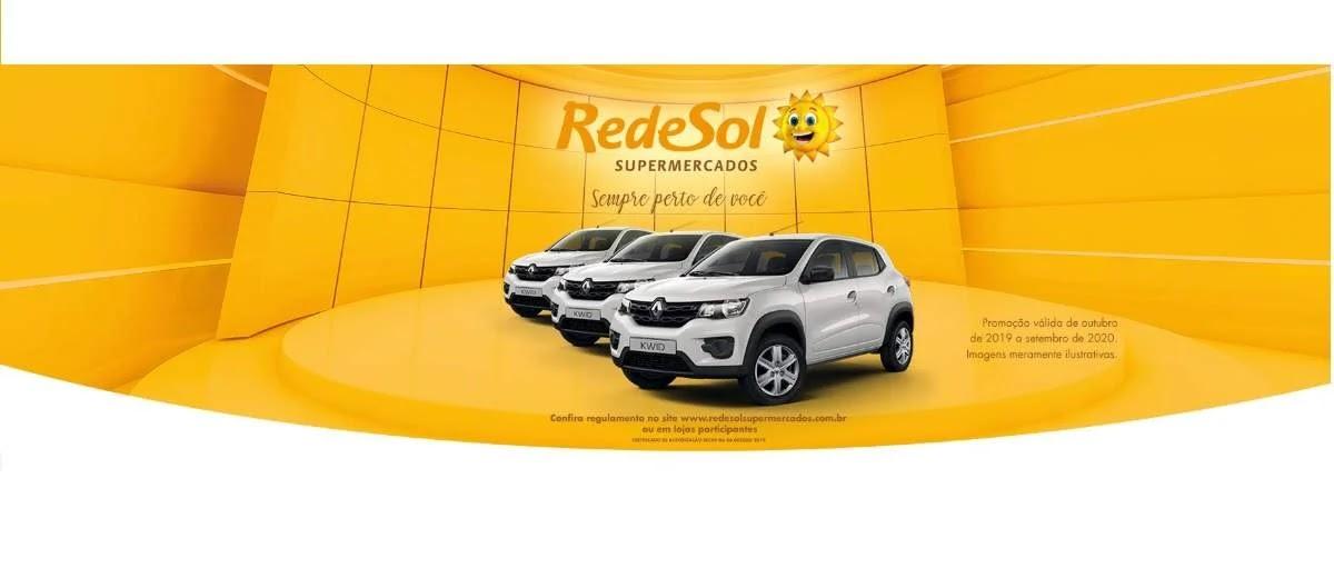 Promoção Rede Sol 2020 Carro Novo Todo Mês