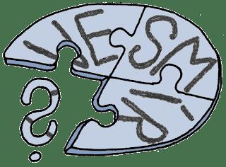 Obrázek vesmíru jako puzzlí, ve které chybí jeden dílek a je místo něj otazník, což má ilustrovat aplikování Gödelových vět o neúplnosti na vesmír. (Autor: Sebastián Wortys)