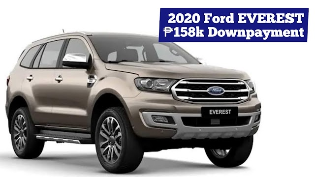 2020 Ford EVEREST SUV Low Down Installment Promos (Ford Batangas)