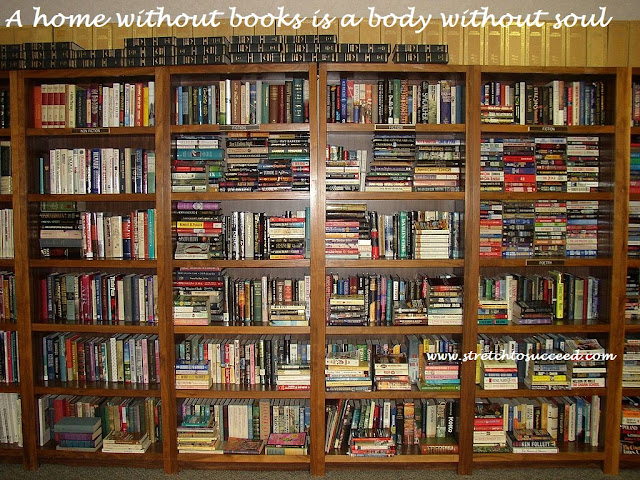 A home without books is a body without soul