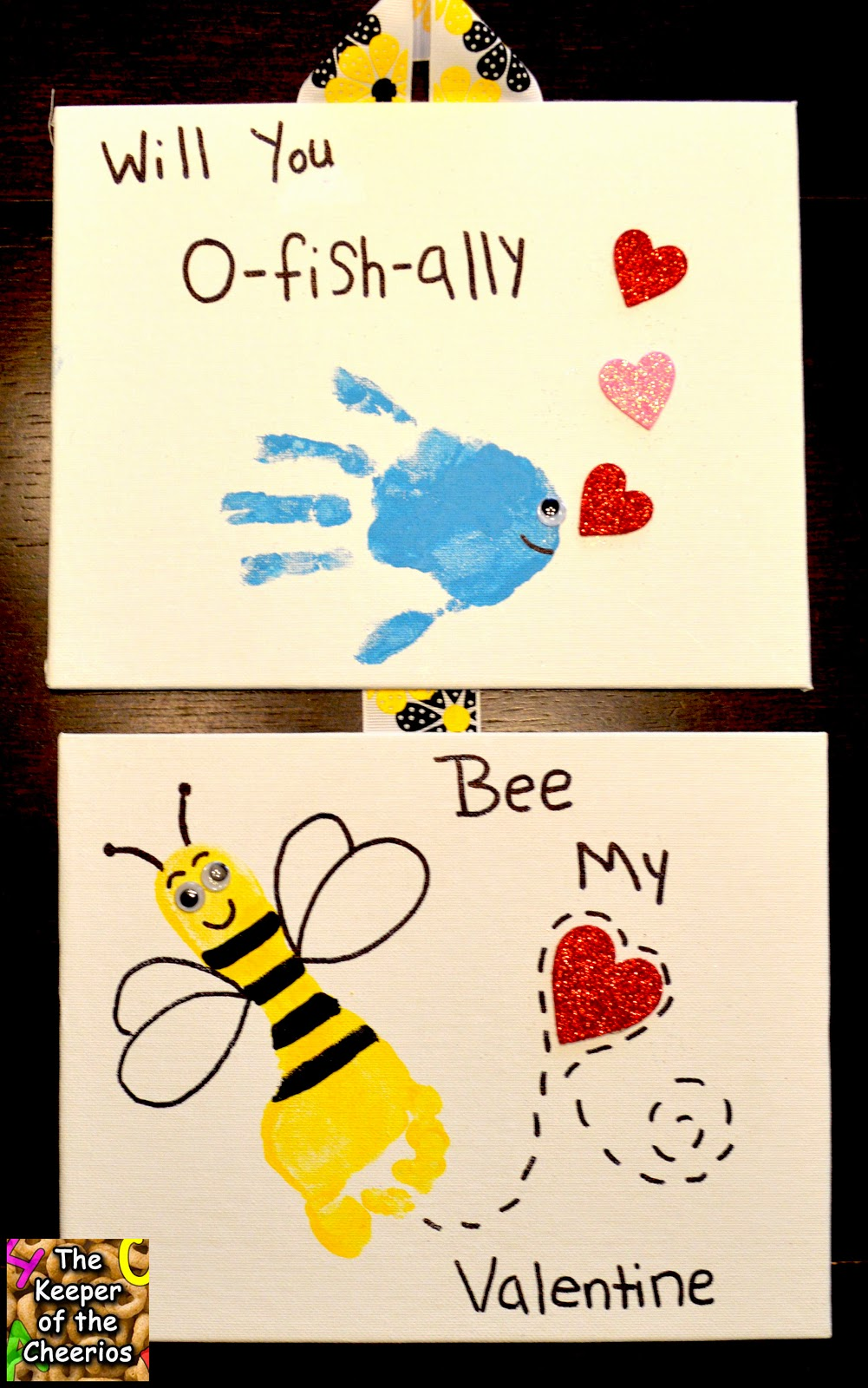 There could not bee a cuter Valentine than this one!