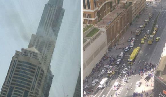 Breaking News : Inferno Hit Skyscraper in Dubai
