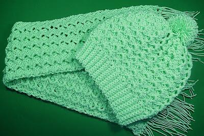 5 - Crochet Imagen Conjunto de gorro y bufanda a crochet y ganchillo por Majovel Crochet