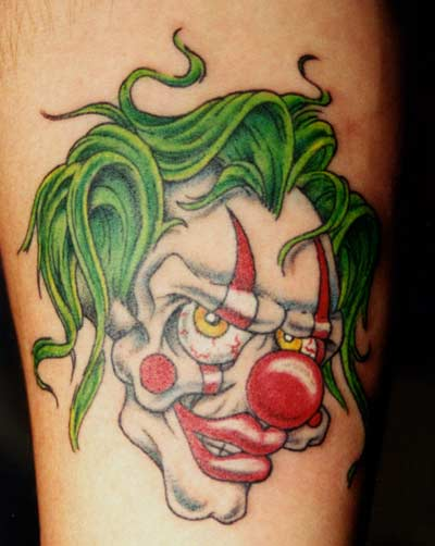 Tatuaje de Clown