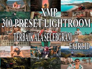 300 Preset Xmp Lightroom Terbaik Ala Selebgram Terkece