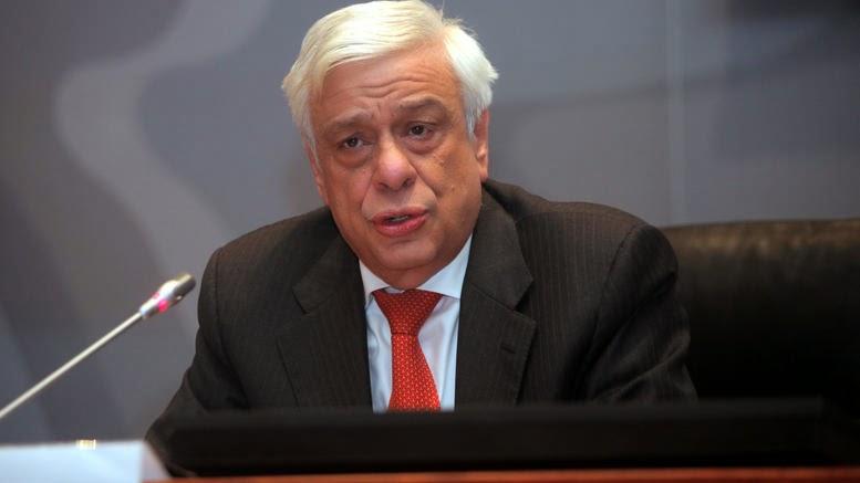Τον Προκόπη Παυλόπουλο πρότεινε ο Αλ. Τσίπρας για Πρόεδρο Δημοκρατίας