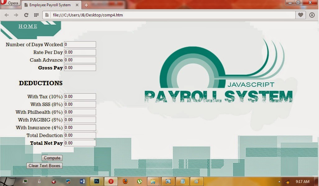 payroll system free source code