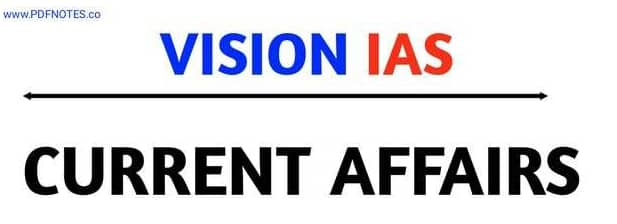 Vision IAS Daily Current Affairs August 2020 in Hindi