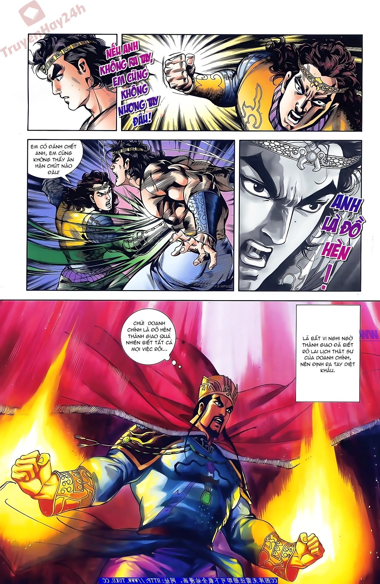 Tần Vương Doanh Chính chapter 43 trang 19