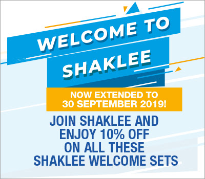 promo welcome set shaklee