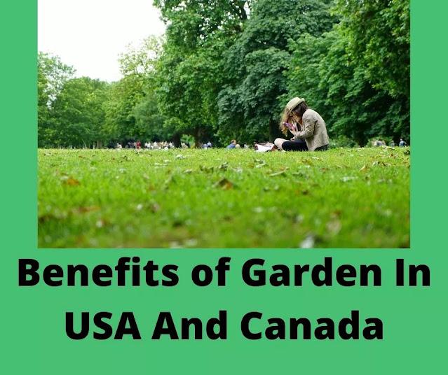 USA garden benefits
