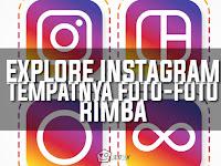 Explore Instagram Tempatnya Foto - Foto Rimba