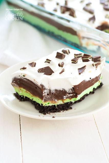 Best Mint Chocolate Lasagna Recipe No Bake Dessert