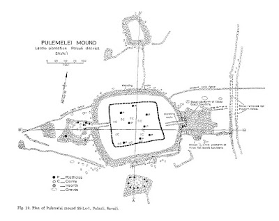 map of pulemelei mound samoan pyramid