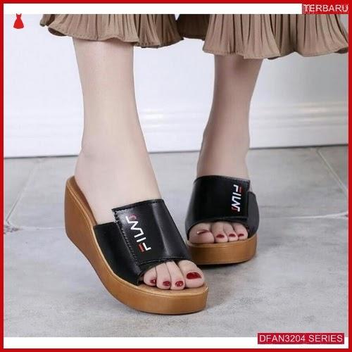 DFAN3204S119 Sepatu Mr114 Wedges Casual Wanita Wedges Murah BMGShop