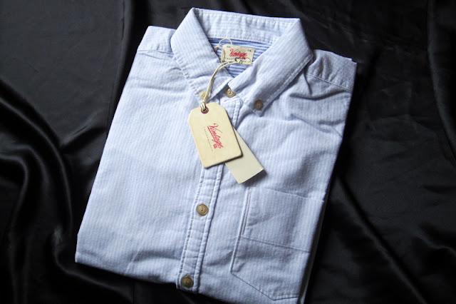 vintage55 ボタンダウン シャツ