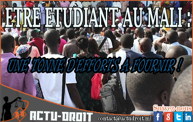 Etre étudiant au mali