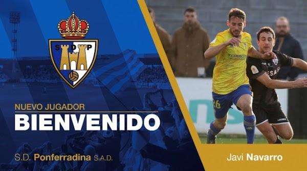Oficial: La Ponferradina ficha cedido a Javi Navarro