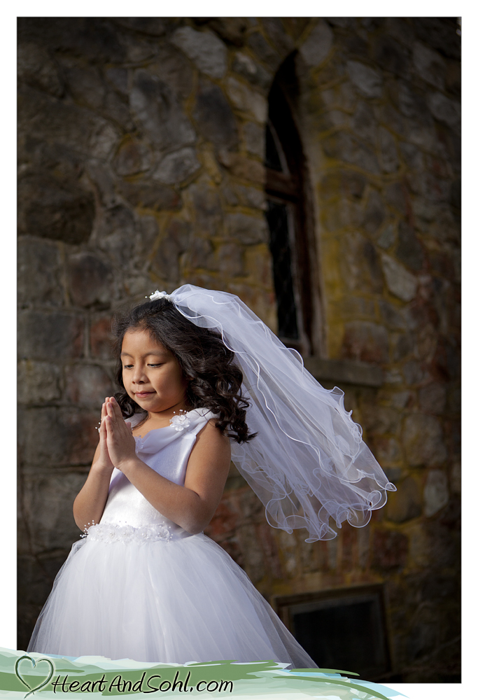 You Gotta Have Heart & Sohl: First Communion Portraits ...
