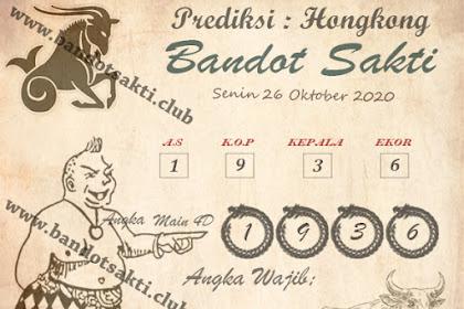 Syair Bandot Sakti Togel Hongkong Senin 26 Oktober 2020