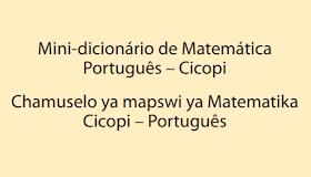 Ensino bilíngue Mini-dicionário de Matemática Português  Cicopi baixar em  pdf