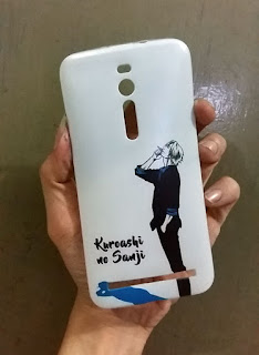 Casing Custom One Piece Kuroashi no Sanji