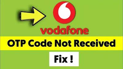 Vodafone/VI Sim Card Otp Not Received Problem