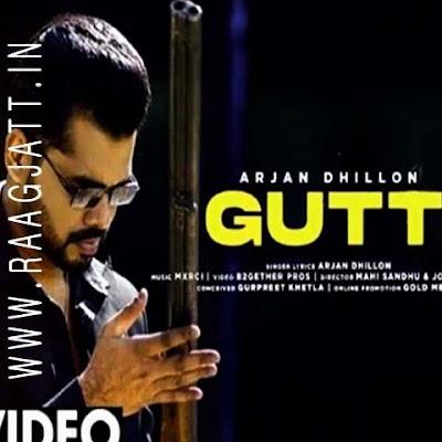 Gutt by Arjan Dhillon lyrics