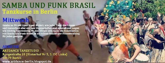 Samba und Funk Brasil in Berlin