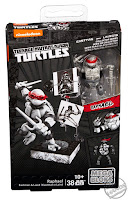 San Diego Comic-Con 2016 Toys R Us Exclusive MEGA BLOKS Teenage Mutant Ninja Turtles Raphael Eastman and Laird Collector's Figure from MEGA Brands