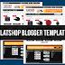 FLATSHOP Template Toko Online Blogspot Keren 2017