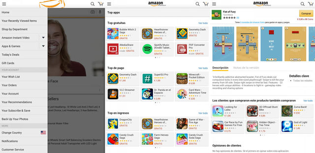 Amazon App Store For Android Tablet
