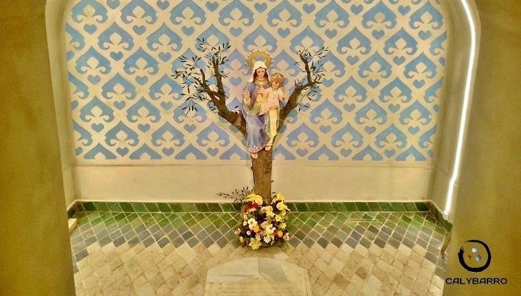Esgrafiados en el Monasterio del Olivar