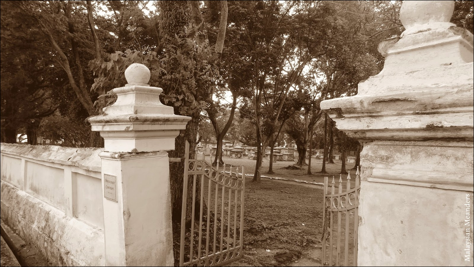 Old Protestant Cemetery, Penang
