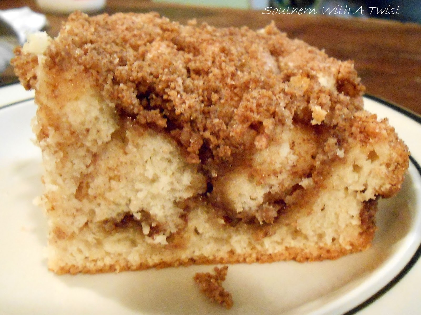 Zucchini Coffee Cake Sour Cream Recipe