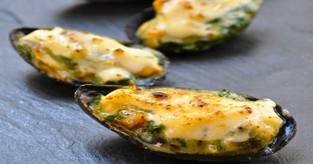 Baked Mussels (Tahong) Recipe