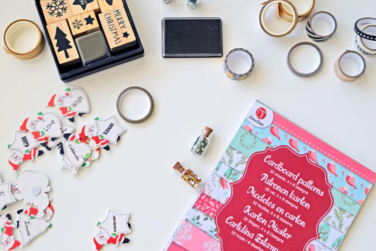 tworzenie kartek świątecznych