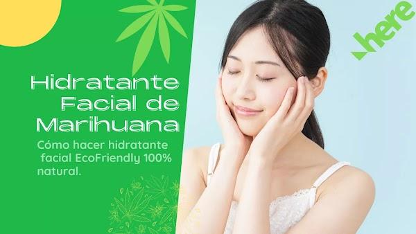 Cómo hacer Hidratante facial de Marihuana