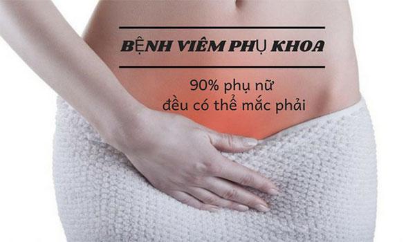 Hơn 90% chị em phụ nữ mắc bệnh phụ khoa, chính vì vậy hãy bảo vệ bản thân mình ngay từ bây giờ ạ