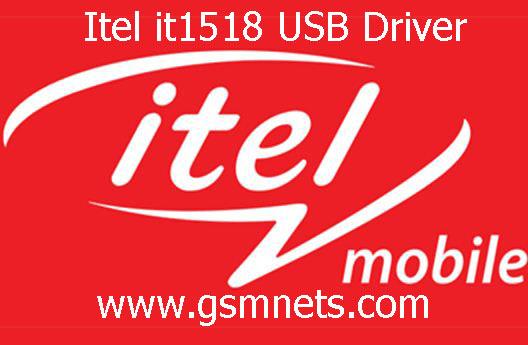 Itel it1518 USB Driver Download