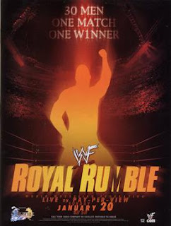 WWE / WWF Royal Rumble 2002 - Event Poster