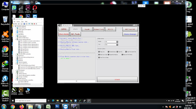 Cara Hapus Demo Live Vivo V20 PD2038F via Remote Online